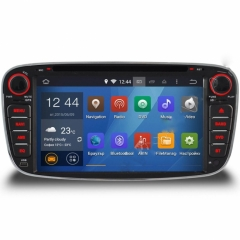 Двоен дин за Ford Focus, Mondeo, S-Max, Galaxy N FD18A с Android, GPS, WiFi, 7 инча