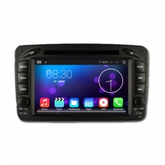 Двоен дин за Mercedes Benz A W210(98-02), 8171G-MBE, Android, QUAD-CORE, DVD, 7 инча