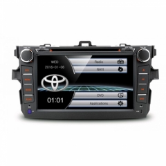 Мултимедия за Toyota Corolla 2007-2011, PF81CLTS GPS,WinCE,DVD, 8 инча