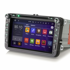Навигация двоен дин ES3015V ,VW PASSAT GOLF TOURAN CADDY JETTA, DVD,3G,DAB+, CD, GPS, 8