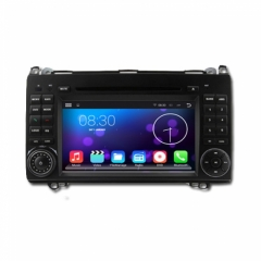 Двоен дин за Mercedes Benz A-W169(04-12), 8068G-MBA, Android, QUAD-CORE, DVD, 7 инча