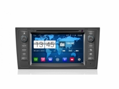 Мултимедия M102G-А6 двоен дин за Audi А6(97-04) Android, GPS, DVD, 16GB, 7 инча