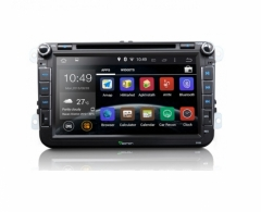Мултимедия за VW двоен дин EONON GA5153F Android 4.4.4 DVD Player 8 инча