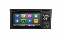 Мултимедия Двоен Дин  PF72A4AGTR за Audi A4/S4/RS4 , GPS, USB, WinCE, 7 инча