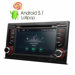 Мултимедия Двоен Дин 7 инча PF75AA4A за Audi A4,S4,RS4 , Android, OBD2